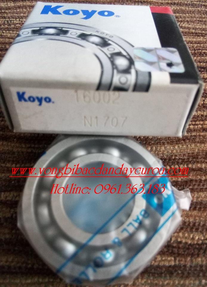 VÒNG BI - BẠC ĐẠN - 16002 KOYO