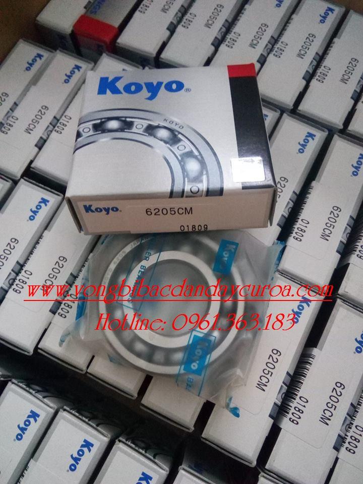 VÒNG BI - BẠC ĐẠN - 6205 KOYO