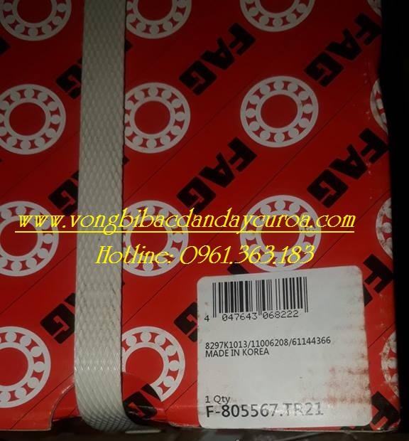 VÒNG BI - BẠC ĐẠN - F805567.TR21 FAG