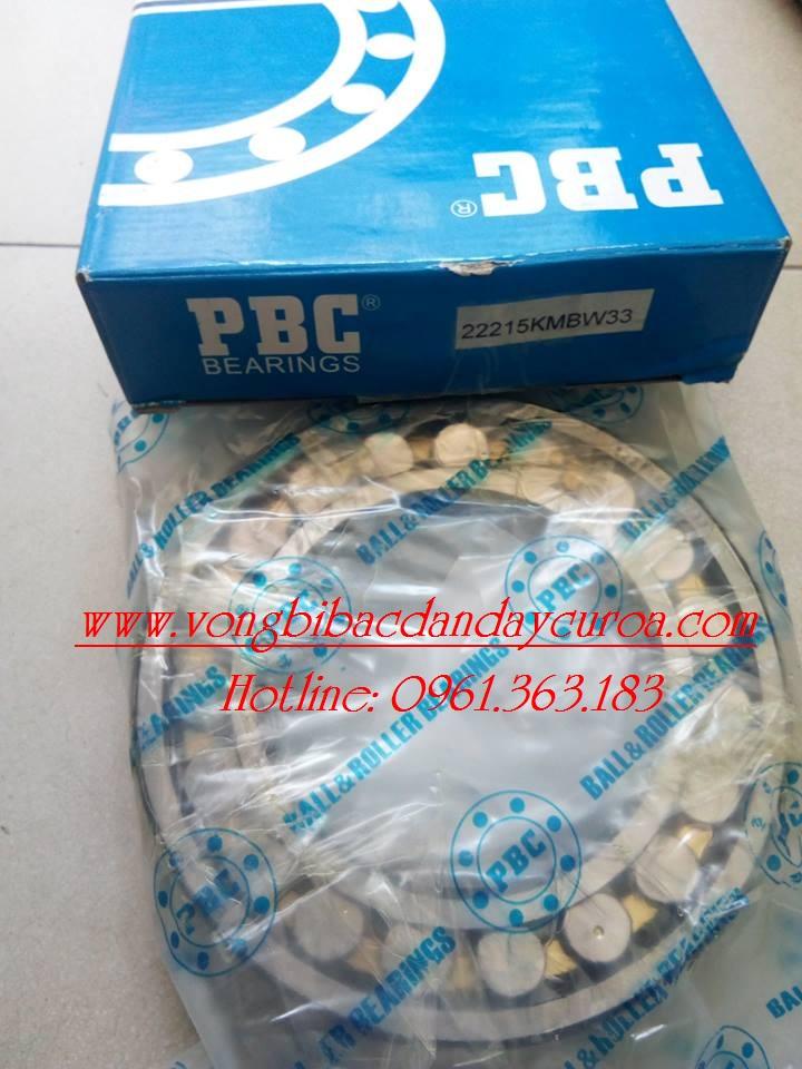 VÒNG BI - BẠC ĐẠN 22215KMBW33 PBC