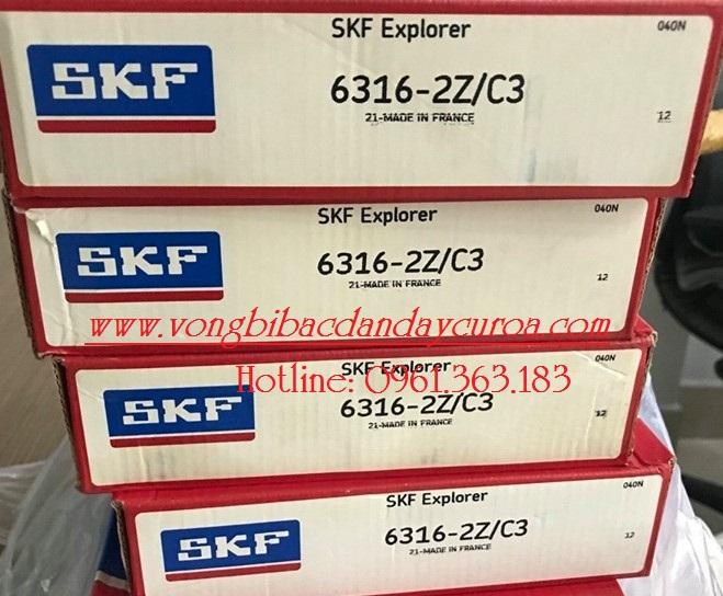 VÒNG BI - BẠC ĐẠN 6316-2ZC3 SKF