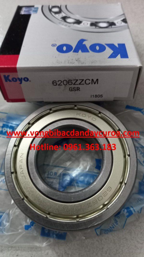 VÒNG BI 6206ZZ KOYO