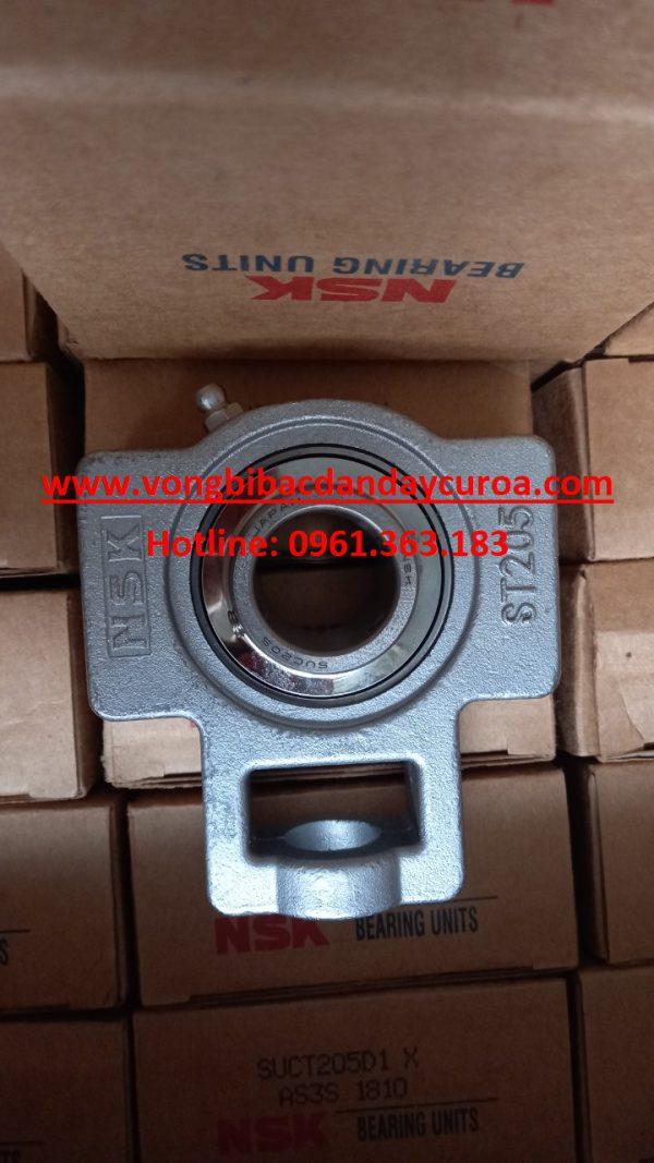 GỐI ĐỠ-BẠC ĐẠN ST205 INOX